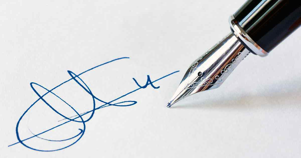 Что означает ваша подпись?