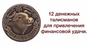 12 денежных талисманов
